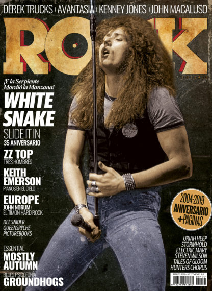 Whitesnake David Coverdale This Is Rock Tu Revista Mensual de Energía Decibélica - Classic Rock, Hard Rock, Heavy Metal, Prog Rock, Blues Rock…