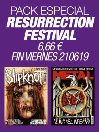 Pack Resurrection Festival Slipknot & Slayer
