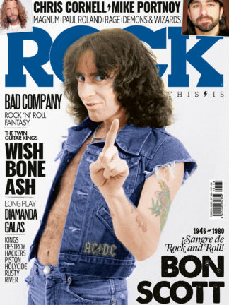 Bon Scott ACDC La Revista Toda la Gente del Rock Tu Magazine de Classic Rock Hard Rock Heavy Metal Prog Rock Blues Rock