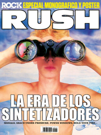 Poster Especial Rush La Revista Toda la Gente del Rock Tu Magazine de Classic Rock Hard Rock Heavy Metal Prog Rock Blues Rock