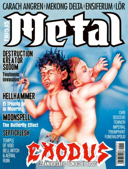TIM 029 Agosto Septiembre This Is Metal Infernal Magazine thisismetal.es