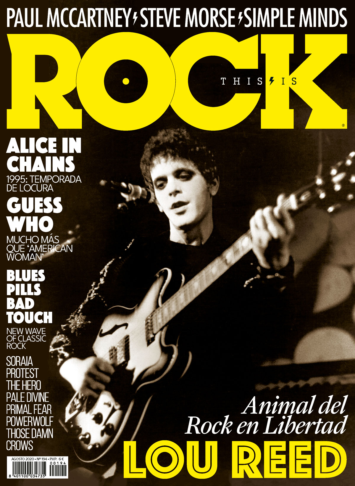 This Is Rock Agosto 2020 TIR194-Lou-Reed-El-Animal-del-Rock-en-Libertad-La-Revista-Toda-la-Gente-del-Rock-Tu-Magazine-de-Classic-Rock-Hard-Rock-Heavy-Metal-Prog-Rock-Blues-Rock